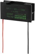 Tłumik przepięć uniwersalny, układ RC, 230VAC/DC/25VA/W