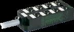 Moduł pasywny MVC8 8xM12, 5-polowy, bez diod LED
