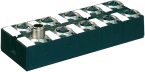 Moduł sieciowy Cube67 E/A, DIO16 E 8xM12