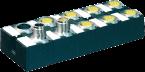 Moduł sieciowy Cube67 E/A, wyjścia bezpieczne, DO6 (DO6) E 6xM12 K3