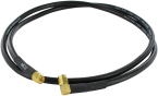 2,4 GHz antenna Cable  Straight to 90° 1,0m