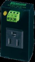 Gniazdo sieciowe MSVD NEMA z LED