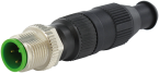MOSA M12 male straight field-wireable (IDC)