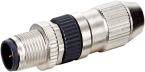 Wtyczka M12 męska, prosta, Slimline, 4-polowa, 0,14-0,34mm2