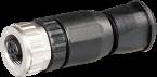 Wtyczka M12 żeńska, prosta, 5-polowa, 0,14 - 1,5mm²