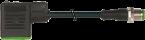 Konektor zaworowy MSUD typ BI 11mm - M12 męski, prosty