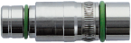 Wkładka M12 żeńska, 6-polowa, ekranowana