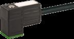 Konektor zaworowy MSUD typ C 8mm z wolnym końcem przewodów