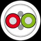 Przewód Profibus PUR-OB ekranowany, fioletowy, op=100m