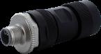 Wtyczka M12 męska 0° L-cod, 5-polowa, max. 1,5mm2