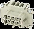 Wkładka złącza Modlink Heavy B6 żeńska 6-polowa, 500 V, 16 A