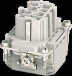 Wkładka złącza Modlink Heavy B6 żeńska, 6-polowa, Push-in, 500V, 16A