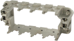 Ramka Modlink Heavy Modular B16 żeńska dla 4 modułów