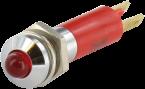 Lampka LED czerwona, 24V DC - 20 mA - M3 - IP65
