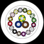Przewód PUR-JB 16*0,34+3*0,75 50m
