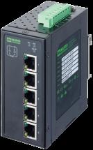 Switch TREE 5TX IP20 4PoE 48VDC