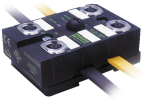 Moduł sieciowy MASI67 E/A DI4/1,6A DO4/2A 4xM12