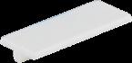 Tabliczki opisowe, białe, 20x8, op=10szt