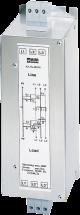 Filtr przeciwzakłóceniowy 3-fazowy, 1-poziomowy, I:36A U:3x600VAC
