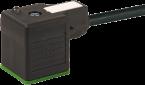 Konektor zaworowy MSUD typ A 18mm z wolnym końcem przewodów