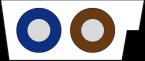 Przewód MASI PUR 2x1.5 czarny 100m