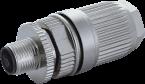Wtyczka M12 męska 0° L-cod. 5-polowa 0,75…1,5mm2