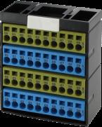 Blok potencjałów, 40 punktów, żółty/niebieski/żółty/niebieski