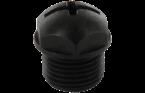 Zaślepka M12, czarna dla MASI
