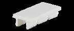Tabliczka opisowa dla MVP, 17x9mm, biała, 2x12szt.