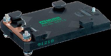 Adapter na szynę DIN dla modułów MASI65