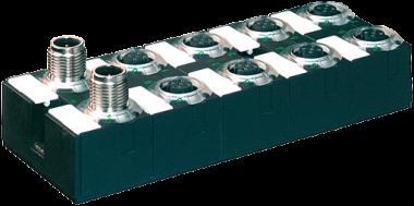 Moduł sieciowy Cube67 E/A DIO16 C 8xM12