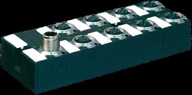Moduł sieciowy Cube67 E/A DI16 C 8xM12