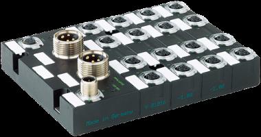 Moduł sieciowy Cube67 DIO16 DO16 E 16xM12 (1,6/2A)