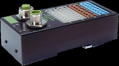 Moduł sieciowy Cube67 E/A, DIO8/DI8 E TB Rail