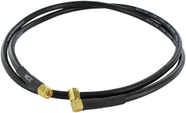 2,4 GHz antenna Cable Straight to 90° 0,5m
