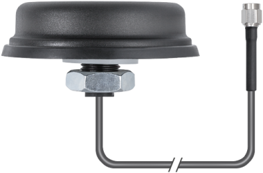 Omnidirectional antenna 0° with 3m cable,