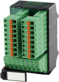 Moduł LUGS 16 250V/8A, zaciski sprężynowe