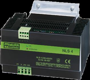 Zasilacz transformatorowy NLS 1/2-fazowy