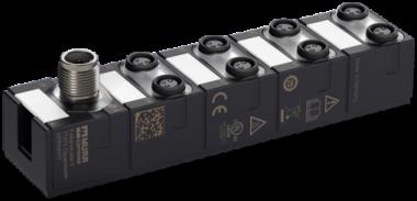 IO-Link Hub, 30mm MVP8-P3 DIO8 8xM8-3 IOLA12 B0