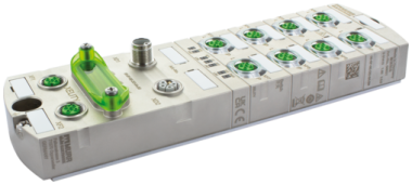 Managed Switch 10x10/100/1000BT IP67 Metal M12