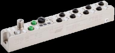Moduł sieciowy Solid67 8IOL 30mm M12PL, Profinet /EthernetIP