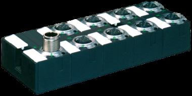 Moduł sieciowy MASI68 DI4/0,2A DO4/2A  8xM12