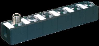 Moduł sieciowy Cube67+ DIO4 RS232/485 E 4xM12