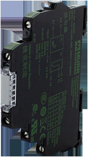 Przekaźnik MIRO 6.2 WE:230VAC/DC - WY:250VAC/DC/6A