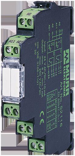Przekaźnik MIRO 12.4 WE:230VAC/DC - WY:250VAC/DC/6A