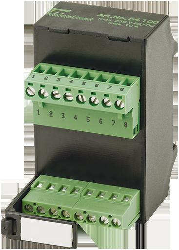 LUG S 8 connector for signal transfer