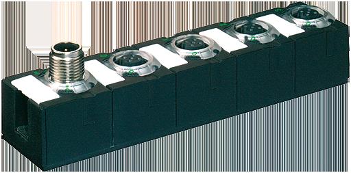 Moduł sieciowy Cube67 E/A DI8 C 4xM12