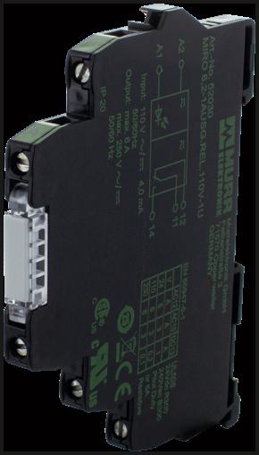 Przekaźnik MIRO 6.2 WE: 110VAC/DC - WY:250VAC/DC/6A