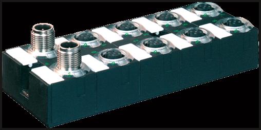 Moduł sieciowy Cube67 E/A DIO16 C 8xM12 1,6A