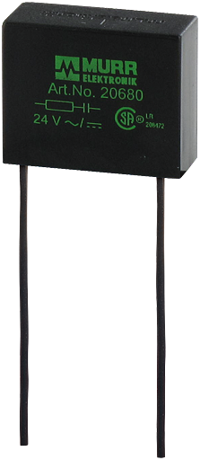 Tłumik przepięć uniwersalny, układ RC, 230VAC/DC/15VA/W